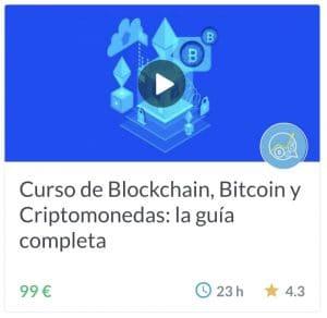 curso blockchain criptomonedas
