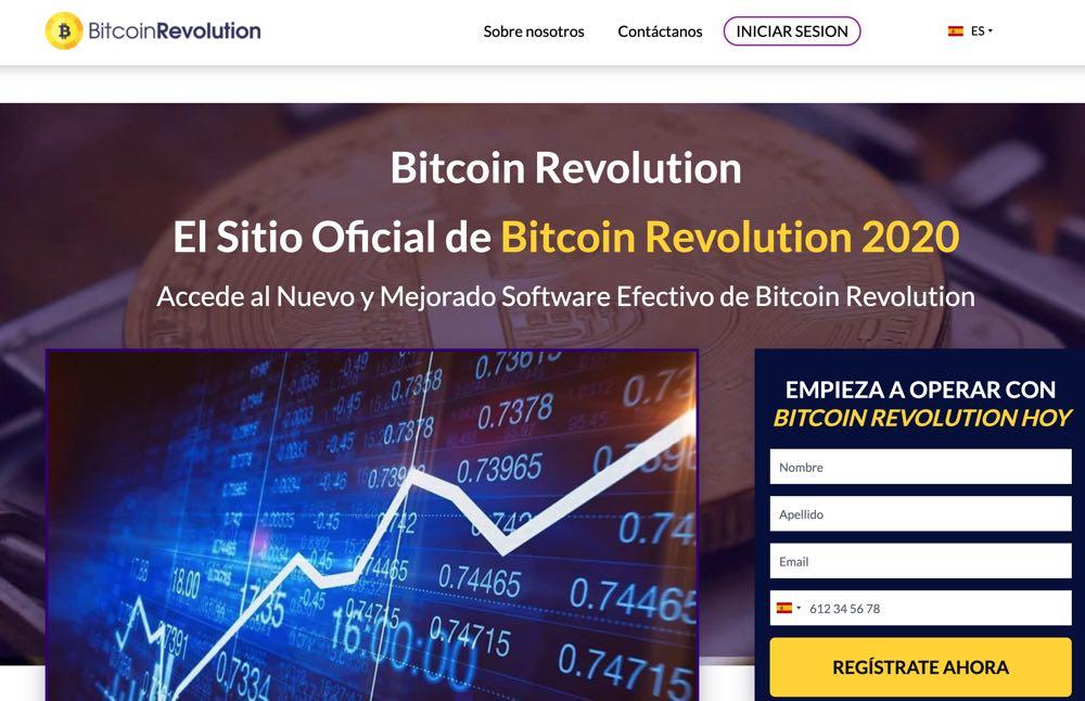 Bitcoin Revolution estafa
