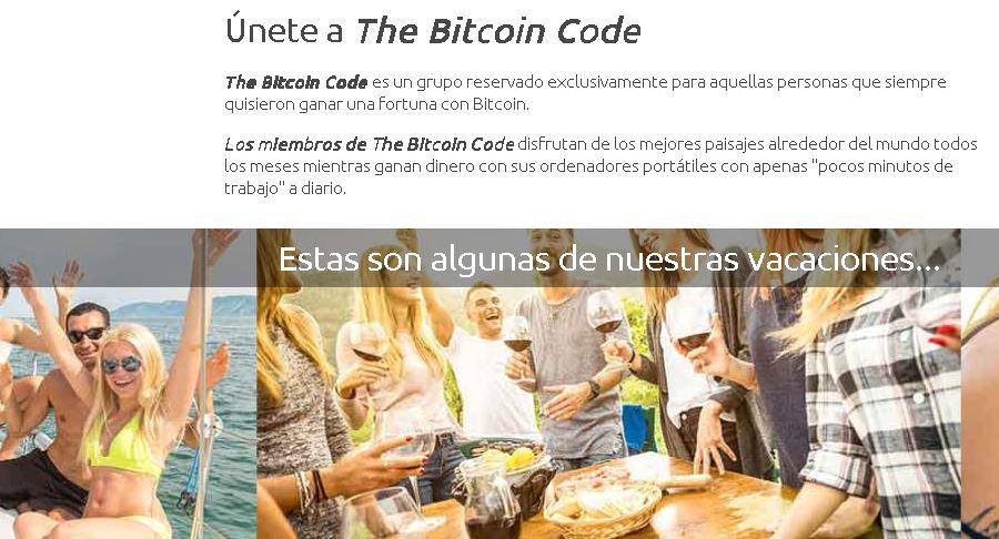 bitcoin code estafa